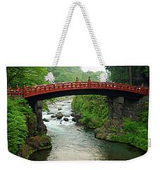 Shinkyo In Nikko Weekender Tote Bag