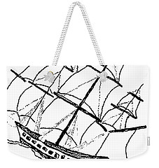 Ship - Boat - Revolutionary War Weekender Tote Bag