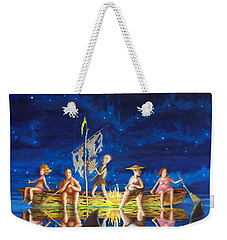 Ship Of Fools Weekender Tote Bag