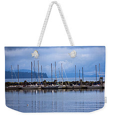 Weekender Tote Bag featuring the photograph Ship To Shore by Jordan Blackstone