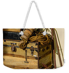 Shipping Out Weekender Tote Bag