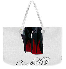 Shoes Can Change Your Life Weekender Tote Bag by Rebecca Jenkins