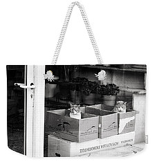 Shop Window Cats Weekender Tote Bag