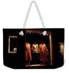 Shop Window Weekender Tote Bag
