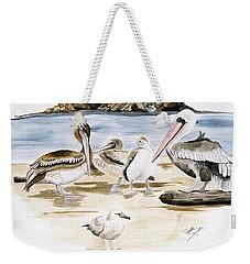 Shore Birds Weekender Tote Bag