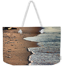 Weekender Tote Bag featuring the photograph Shore by Bruce Patrick Smith