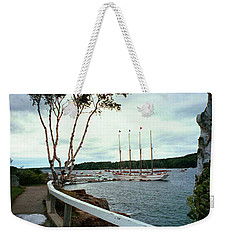 Shore Path In Bar Harbor Maine Weekender Tote Bag