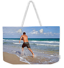 Shore Play Weekender Tote Bag by Keith Armstrong