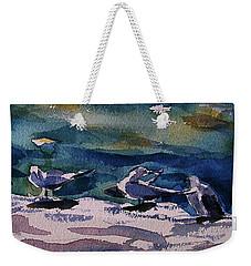 Shoreline Birds Iv Weekender Tote Bag