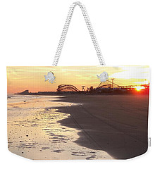 Shoreline Sunset Weekender Tote Bag