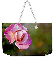 Weekender Tote Bag featuring the photograph Short Lived Beauty by David Millenheft