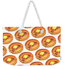Short Stack Pattern Weekender Tote Bag