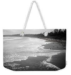 Winter At Wickaninnish Beach Weekender Tote Bag