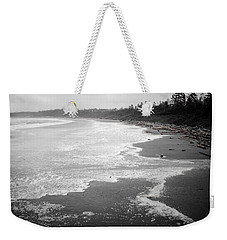 Winter At Wickaninnish Beach Weekender Tote Bag by Roxy Hurtubise