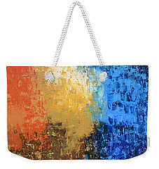 Weekender Tote Bag featuring the painting Show Me Your Glory by Linda Bailey
