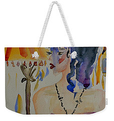 Showgirl Weekender Tote Bag by Beverley Harper Tinsley