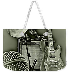 Show's Over - B W Weekender Tote Bag