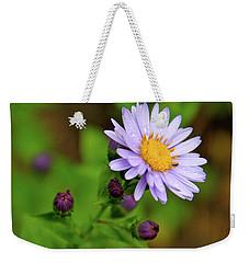 Showy Aster Weekender Tote Bag