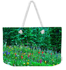 Shrine Pass Wildflowers Weekender Tote Bag by Jeremy Rhoades