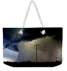 Shrouded Tornado Weekender Tote Bag by Ed Sweeney