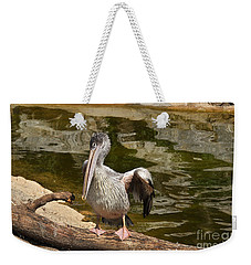 Weekender Tote Bag featuring the photograph Shyness by Simona Ghidini