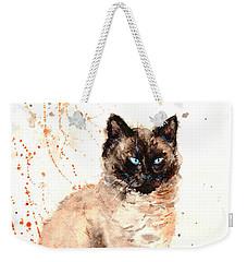 Siamese Beauty Weekender Tote Bag