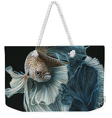 Siamese Fighting Fish Three Weekender Tote Bag