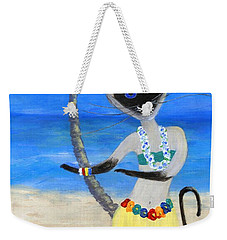 Siamese Queen Of Hawaii Weekender Tote Bag by Jamie Frier