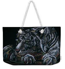 Siberian Tiger Weekender Tote Bag by Peter Suhocke