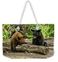 Sibling Lunch Weekender Tote Bag