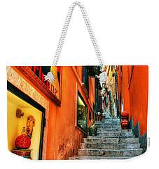 Sicilian Steps Weekender Tote Bag