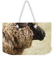 Side Face Of A Sheep Weekender Tote Bag