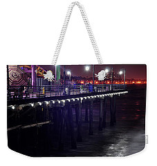 Side Of The Pier - Santa Monica Weekender Tote Bag