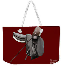 Sidesaddle And Crop Weekender Tote Bag by Linsey Williams