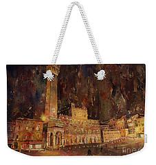 Siena Sunset Weekender Tote Bag by Ryan Fox