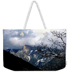 Weekender Tote Bag featuring the photograph Sierra Nevada Snowy View by Matt Harang