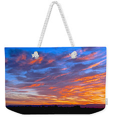 Sierra Nevada Sunrise Weekender Tote Bag by Eric Tressler