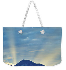 Sierra Sunset Weekender Tote Bag by Mayhem Mediums