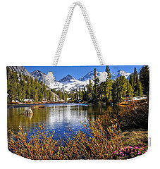 Weekender Tote Bag featuring the photograph Signs Of Spring by Lynn Bauer
