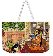 Sikh Guru Weekender Tote Bag