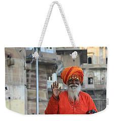 Indian Man Weekender Tote Bag