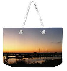 Silent Harbor Weekender Tote Bag