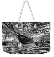 Weekender Tote Bag featuring the photograph Silent Lady by Howard Salmon