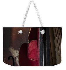 Weekender Tote Bag featuring the photograph Silent Sonata by Amy Weiss