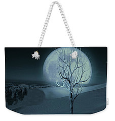 Silent Winter Evening  Weekender Tote Bag