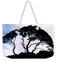 Weekender Tote Bag featuring the photograph Silhouette by Jim Thompson