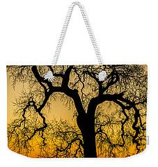 Silhouette Oak Weekender Tote Bag