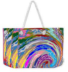 Colorful Fineart Silken Spiral Waves Pattern Decorative Art By Navinjoshi At Fineartamerica.com Weekender Tote Bag