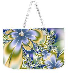 Silky Flowers Weekender Tote Bag