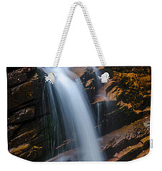 Weekender Tote Bag featuring the photograph Silky Smooth by Mike Ste Marie